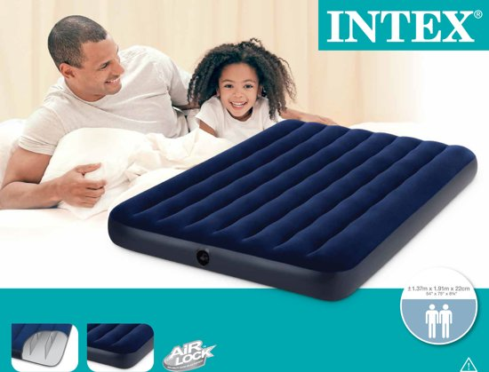 Intex Classic Downy Luchtbed Full