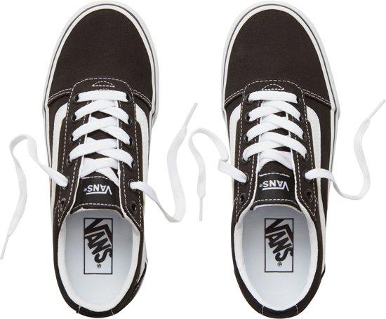 38 Platform Dames white Black Ward canvas Sneakers Maat Vans wT5XRqxR