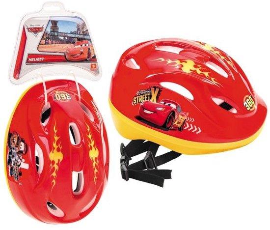 Mondo Cars - Kinderhelm - Fiets - Maat M (52-56 cm) - Rood