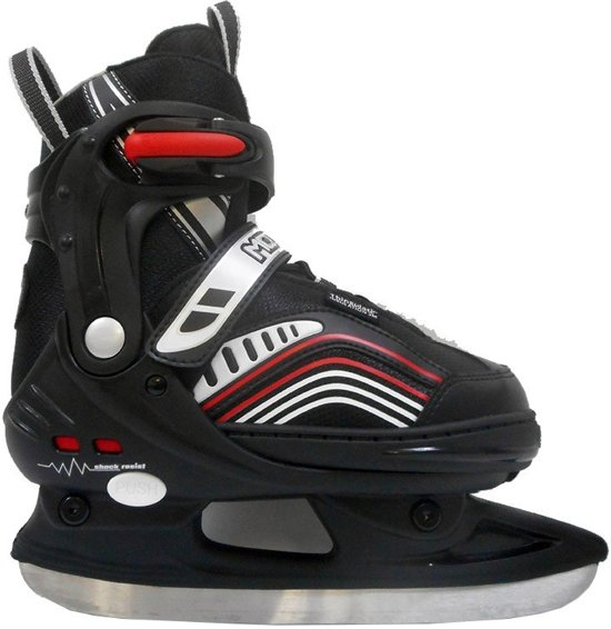 Move Schaatsen Ice Glide Verstelbaar Junior Zwart Maat 37-40