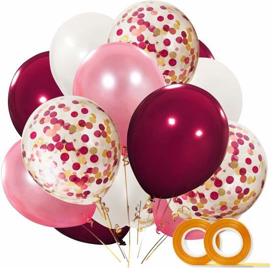 40 St Ballonnen Versiering Met Confetti Bruiloft Decoratie Roze