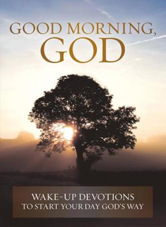 Bolcom Good Morning God David C Cook 9780781409148 Boeken