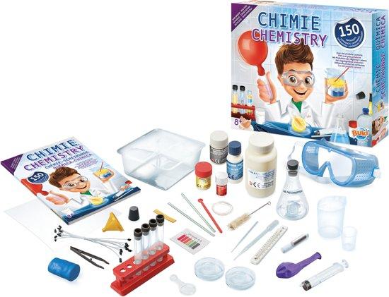 Scheikunde lab 150 experimenten