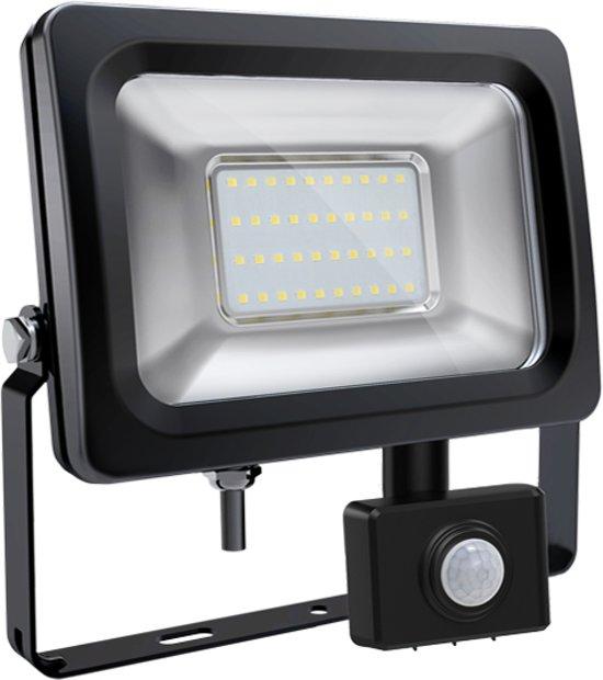 Sensor led bouwlamp 30 Watt koud wit licht