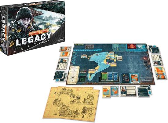 Thumbnail van een extra afbeelding van het spel Pandemic Legacy Season 2 Black