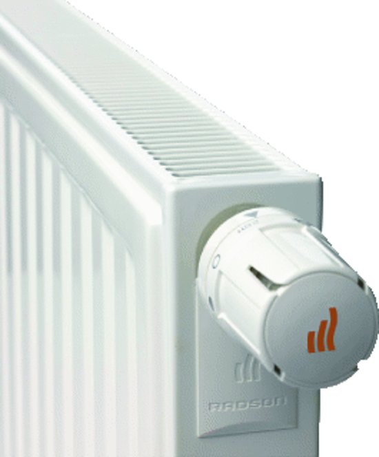 Radson paneelradiator E.FLOW, staal, wit, (hxlxd) 750x1050x65mm, 11