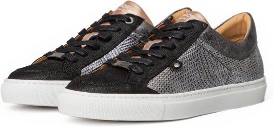 ELODIE 1.1A MetallicPink Sneakers Dames Zwart Zilver