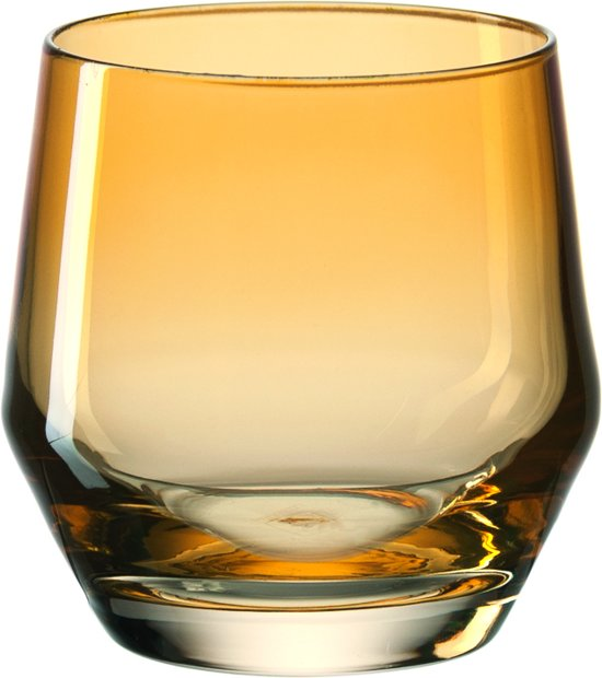Leonardo Puccini - Waterglas - amber - 6 stuks