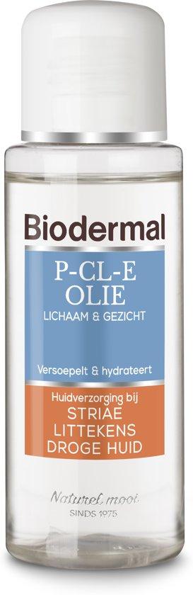 Biodermal P-CL-E Olie - 75ml - huidolie voor lichaam en gezicht - Striae en littekens