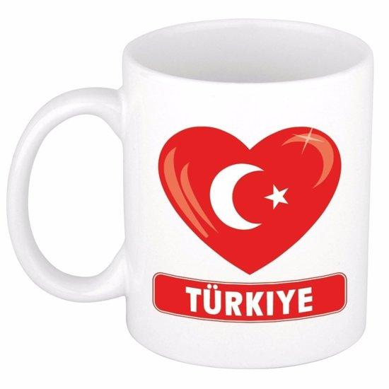 Hartje Turkije mok / beker 300 ml