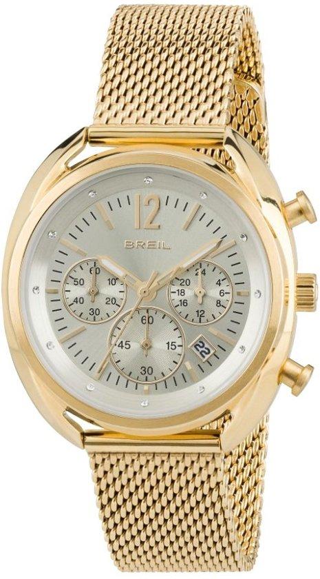 Breil TW1676 horloge dames - goud - edelstaal doubl�