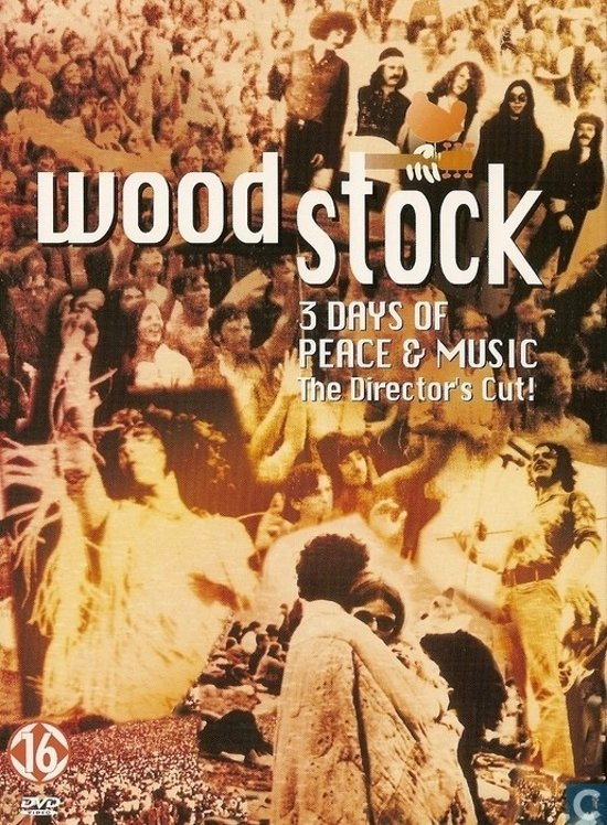 DVD cover van Woodstock