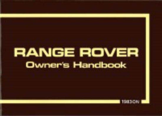 Range Rover 1983/85
