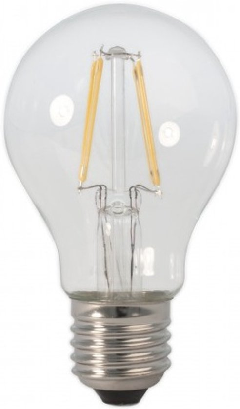 Vaak bol.com | LED Gloeilamp Bulb E27 Grote Fitting Warm Wit 4 Watt 3 stuks BQ35