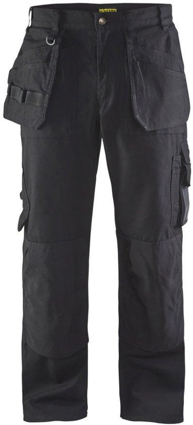 Blaklader Werkbroeken met kniestukken ZwartNL:46 BE:40
