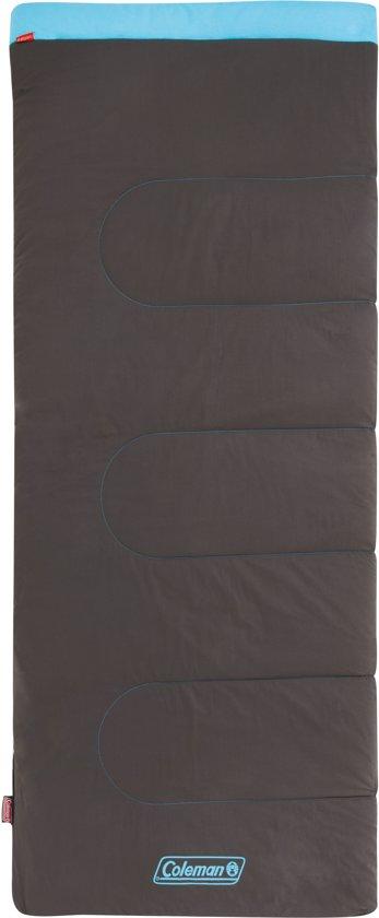 Coleman Slaapzak - Heaton Peak Comfort - 205x85 Cm - Blauw/bruin