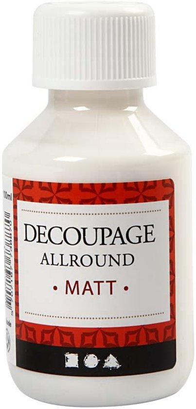 Decoupage lijmlak, Mat, 100 ml