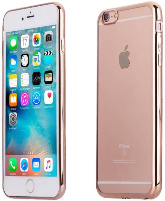 Iphone 6 rose goud hoesje