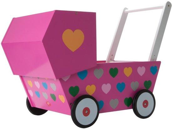 Jip Wandelwagen Roze