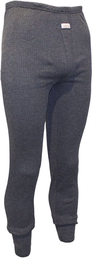 Lunatex Pantalon Thermo Grijs - Maat S