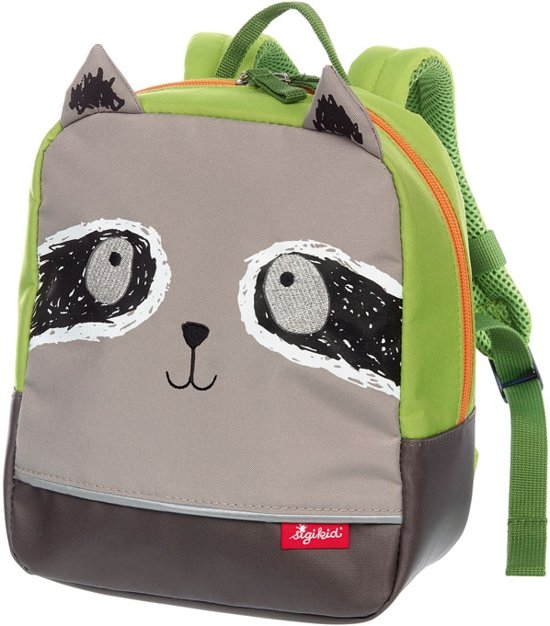 sigikid Backpack racoon, My first backpack 24976