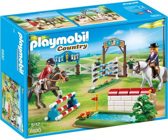 PLAYMOBIL Paardenwedstrijd  - 6930