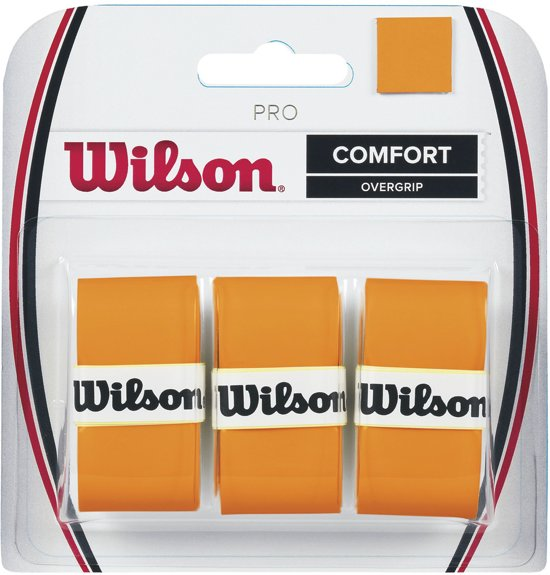 Wilson Grip - oranje