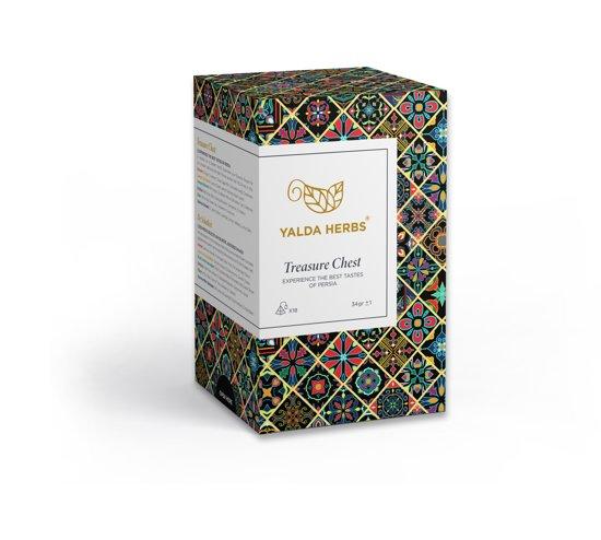 Yalda Herbs Thee| Treasure Chest | Schatkist | Proefpakket | 6 smaken | Giftbox