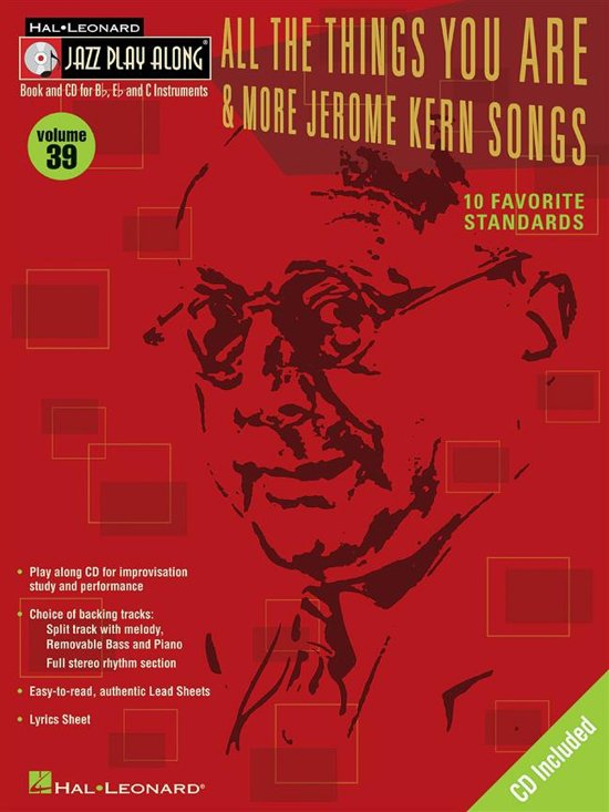All the Things You are and More Jerome Kern Songs
