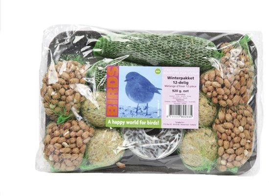 Buzzy Birds Winterpakket - Buitenvogelvoer - 920 g