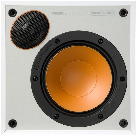 Monitor Audio Monitor 50 - Wit - Boekenplank Luidspreker ( Per Paar )
