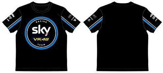 shirt Team Vr46skmts291204T Sky Black L Replica EID2eYW9H