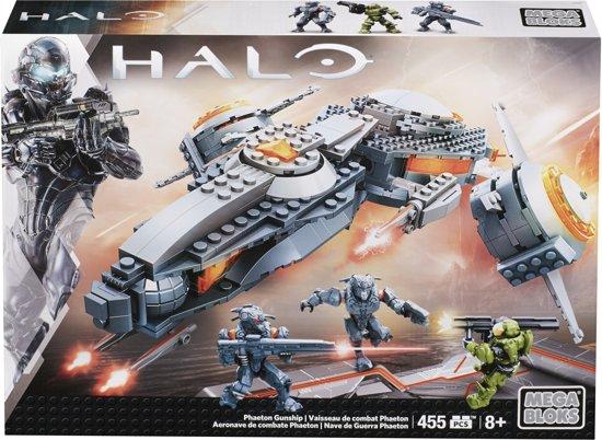 Mega Bloks Halo Phaeton Gevechtsvliegtuig - Constructiespeelgoed
