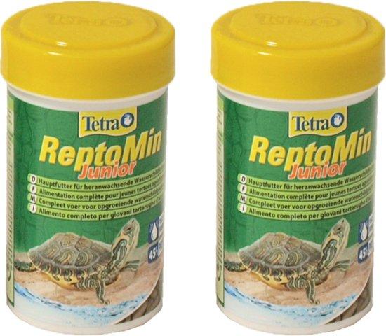 Tetra reptomin voordeelverpakking 2 st 100ml junior schildpad