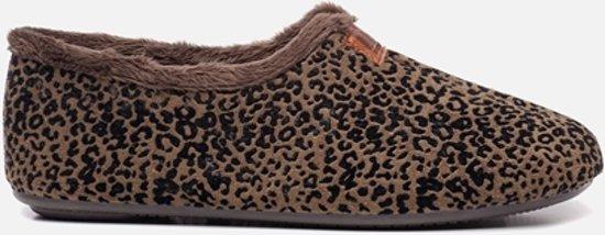 Nortenas Pantoffels luipaard - Maat 41