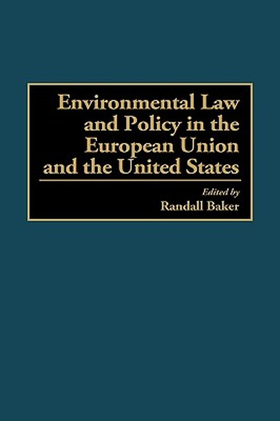 environmental policy in the eu 4 environmental taxation and eu environmental policies authors and acknowledgements authors and acknowledgements the european environment agency (eea) and its european topic centre on waste and materials in the.