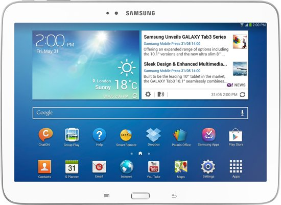Samsung Galaxy Tab 3 - 10.1 inch (P5210) - Wit - Tablet