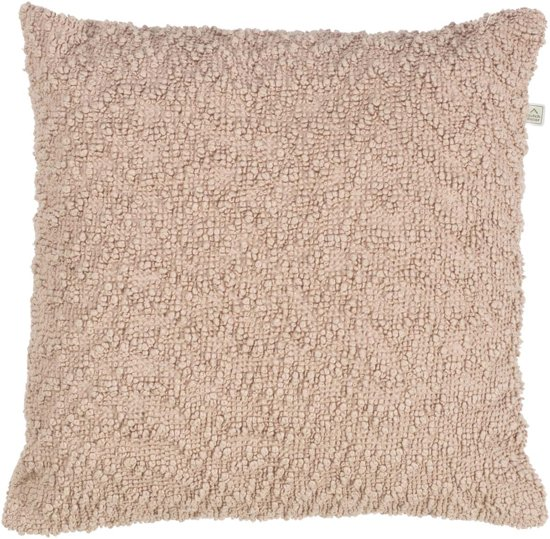 Dutch Decor Kussenhoes Cilla 45x45 cm nude