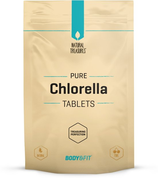 Body & Fit Superfoods Pure Chlorella tabletten - 250 tabletten