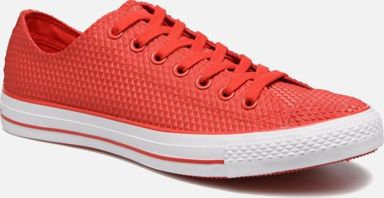 Converse Ctas Pro Ox CasinoWhite Rode rubber sneakers gevulkanizeerd