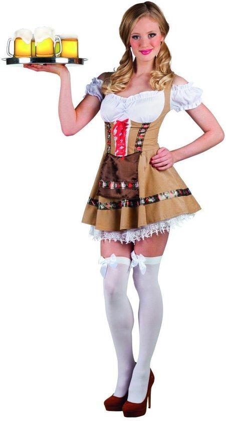 Boland Dirndl Dames Alpine maid Bruin - M