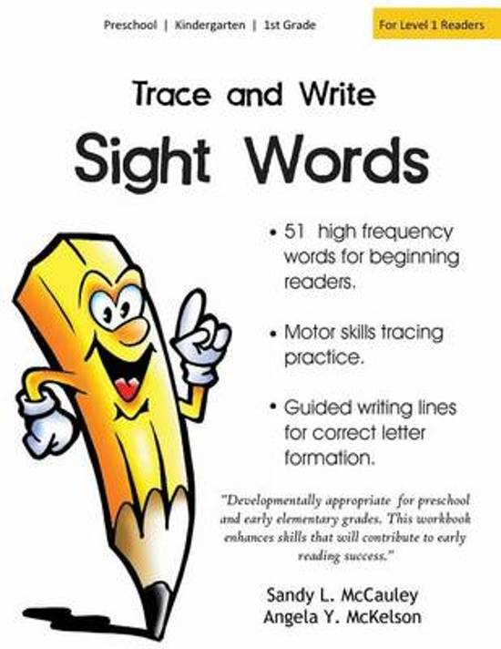 Bol Trace And Write Sight Words 9781514638682 Sandy L
