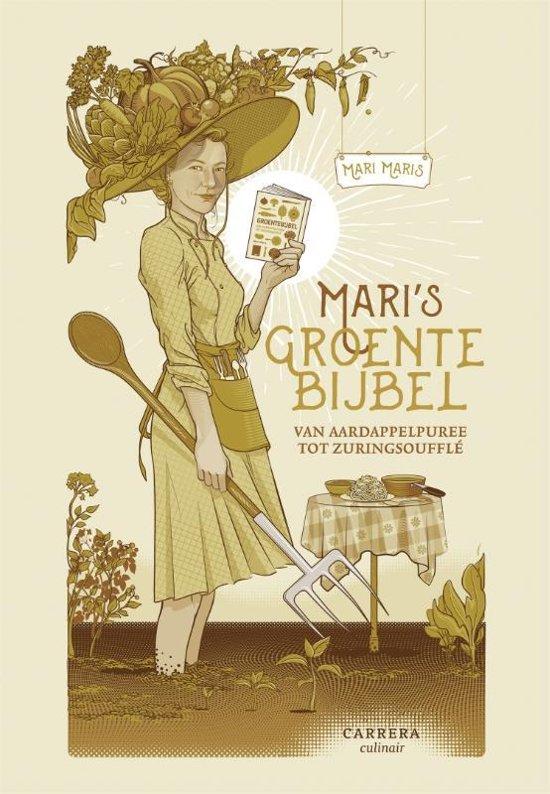 Boek cover Maris groentebijbel van Mari Maris (Hardcover)
