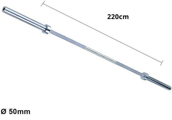 Olympische halterstang 220cm | 350kg - Focus Fitness