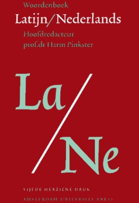 Boek cover Woordenboek Latijn - Nederlands van Harm Pinkster (Paperback)