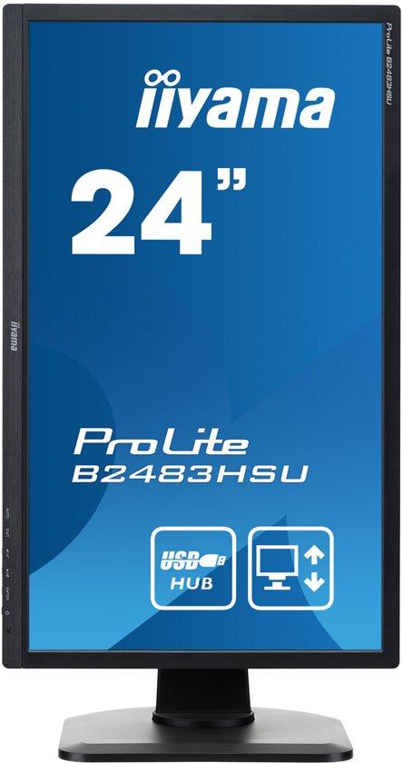 Iiyama ProLite B2483HSU - Full HD Monitor