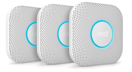 Nest Protect - Slimme rook- en koolmonoxidemelder - Met batterij - 3 stuks