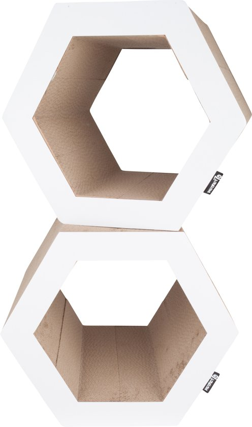 District 70 HEXA Krabpaal -Cardboard - L 50 x 40 x 43 cm
