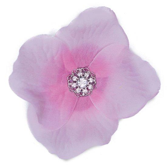 Glamour Clicks - Haarbloemen - Roze