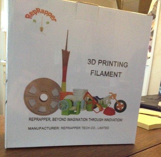 1.75mm rood PLA filament